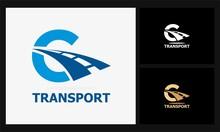 C Tansport Icon Road Logo