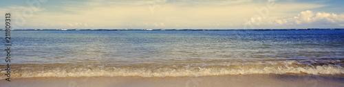Foto op Plexiglas Caraïben Caribbean sea background.