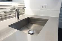 Modern Bathroom Sink Tile And ...
