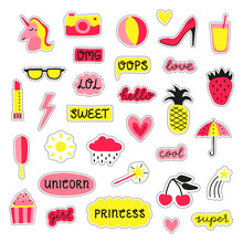 Collection Of Girly Pop Sticke...