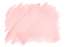 Pink Watercolor Background Wit...