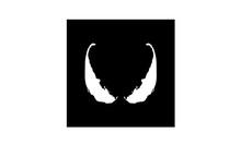 Superhero Enemy Eyes With Initial V Logo Design Inspiration