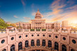 canvas print picture - Texas State Capitol Building