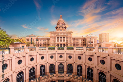 Canvas Prints Texas Texas State Capitol Building