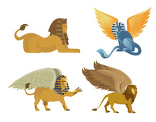 Mythology Egyptian Sphinx