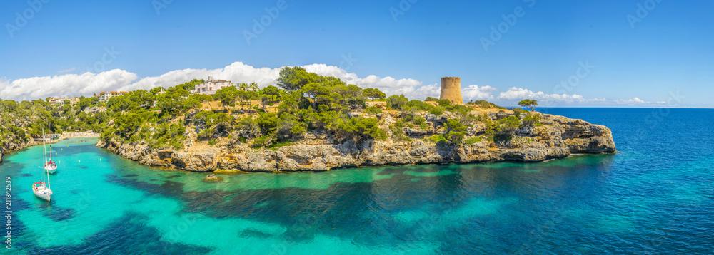 Fototapety, obrazy: Cala Pi bay at Mallorca, Spain