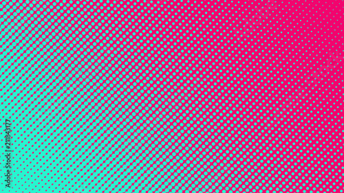 Fototapeta  Halftone gradient pattern vector illustration