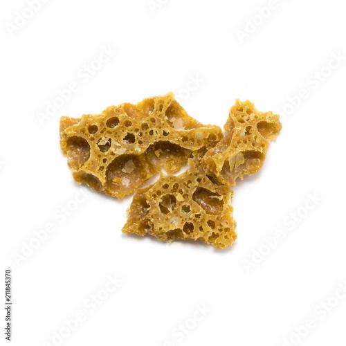 Honeycomb Wax - Afghani Canvas Print