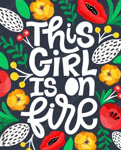 ta-dziewczyna-sie-pali-handdrawn-ilustracja-pozytywny-cytat-w-vector-motivati