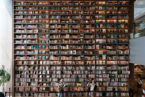 Fotografie, Obraz  大きい本棚