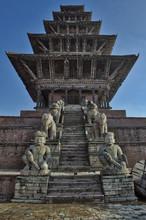 Nyatapola Siddhi Lakshmi Temple (Ngatapola Temple), Taumadhi Tole Square, Bhaktapur, Nepal