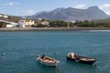 Boats In The Harbour, Playa De...