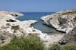 Kapros beach on north east coast, Pachena, Milos, Cyclades, Aegean Sea, Greek Islands, Greece, Europe