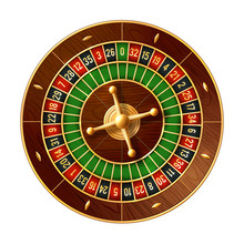 Casino Roulette Wheel 3d Vecto...