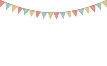 Blank Banner, Bunting Or Swag ...