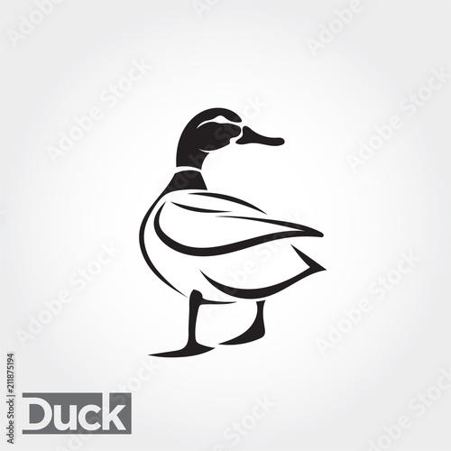 Fényképezés duck, goose, swan logo art