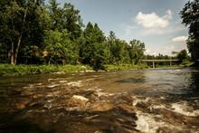 A Calm River In Michigan