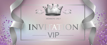 VIP Invitation Lettering With ...