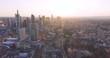Frankfurt am Main inner City aerial