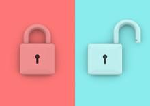 Lock Unlock Security And Busin...