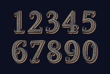 Royal Vintage Numbers In Victo...