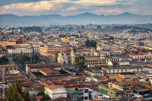 Fotobehang Centraal-Amerika Landen Quetzaltenango, Guatemala