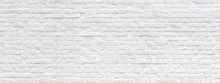 White Painted Old Brick Wall P...
