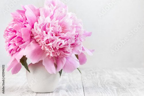 Fotografie, Obraz  Picture with peonies