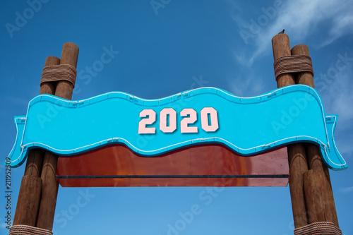 Poster  Schild 332 - 2020