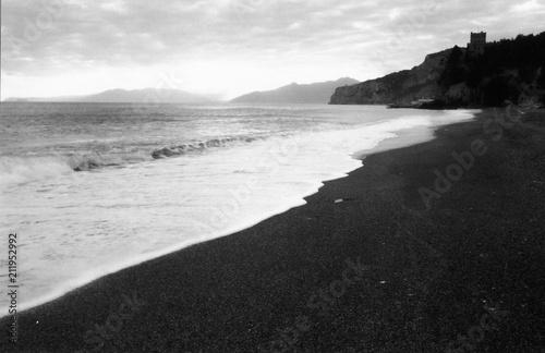 In de dag Liguria landscape of Finale Ligure