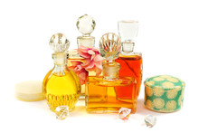 Group Of The Vintage Perfume B...