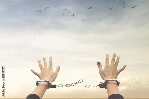 Foto concept of freedom
