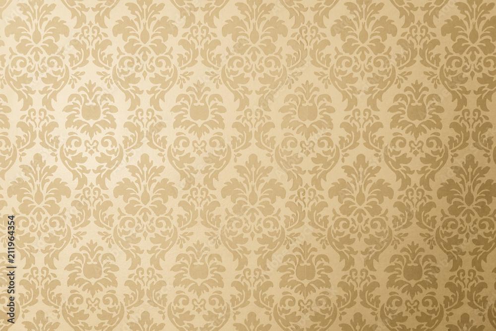 Fototapety, obrazy: papel de parede dourado