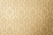 canvas print picture - papel de parede dourado