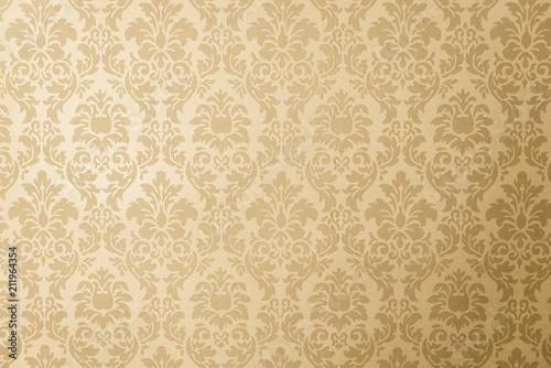 Fototapeta papel de parede dourado obraz