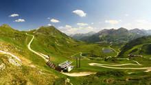 Roads And Lifts In Obertauern ...