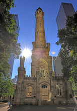 The Chicago Water Tower Is A L...