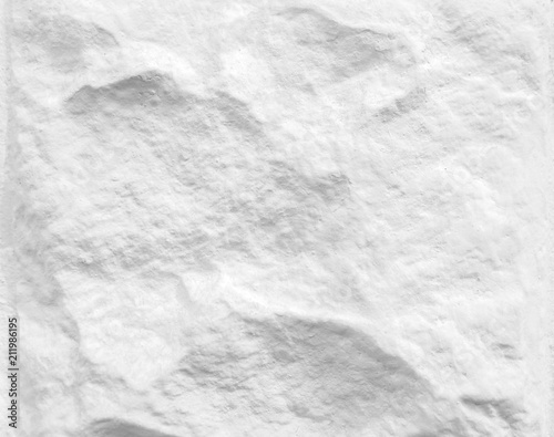 Poster Cailloux White stone texture