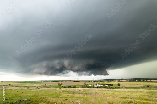 Tornado Supercell in Oklahoma Canvas Print