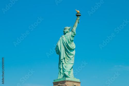 Staande foto Historisch mon. The statue of liberty in New York Harbor.