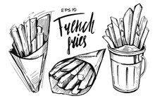 French Fries Sketch