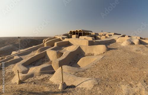 Papiers peints Con. ancienne Ruins of Shahr-e Sukhteh, Sistan and Baluchistan, Iran