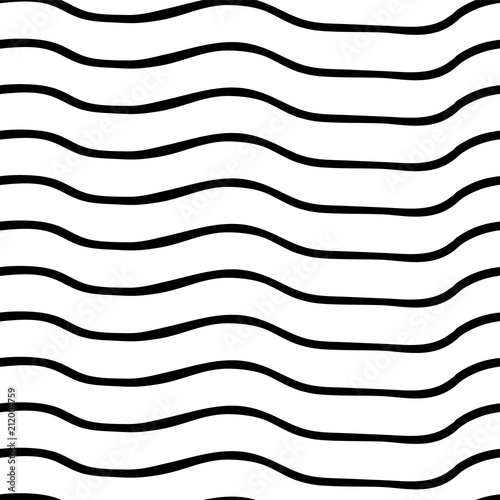 Fotografie, Obraz  Vector seamless pattern