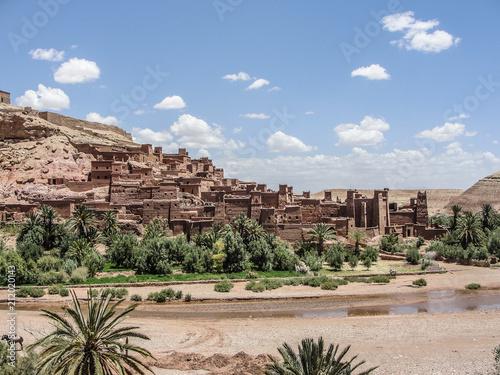 Spoed Foto op Canvas Marokko Natural Town 2