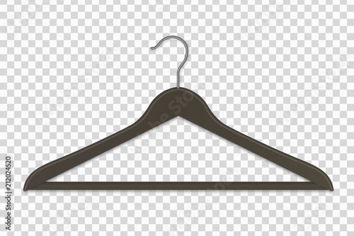 clothes  hanger isolated Canvas Print