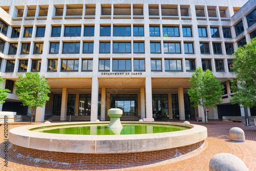 Washington, USA,United States Department of Labor.