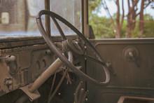Interior Of Old Car