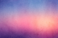 Colorful Gradient Watercolor Paint On Old Paper With Grain Smudge Dirty Texture Abstract For