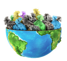 Сoncept Of Global Pollution. ...