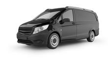 Delivery Van 3D Rendering Isol...